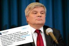 Dziennikarze telewizji publicznej bardzo się starali, żeby nie dodzwonić się do Macieja Laska.