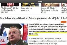 """Stanisław Michalkiewicz napisał na """"Frondzie"""" o """"chwilowo nieczynnym"""" obozie zagłady"""