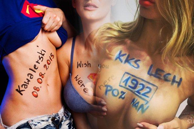 Trzech krakowskich informatyków założyło kontrowersyjny, seksistowski, ale i zapowiadający się hitowo start up SignMyTits.com.