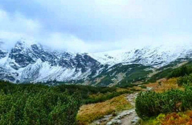 W Tatrach spadł pierwszy śnieg.