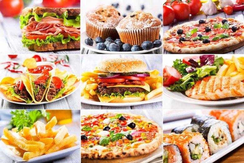 Zamówione jedzenie rzadko kiedy przypomina to ze zdjęcia.
