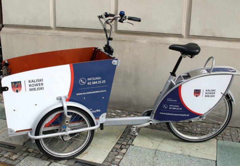 Rowerów cargo w Warszawie nie znajdziecie, ale już w Kaliszu - jak najbardziej