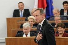 Orędzie Tomasza Grodzkiego spotkało się z pozytywnym odbiorem dużej części komentatorów.