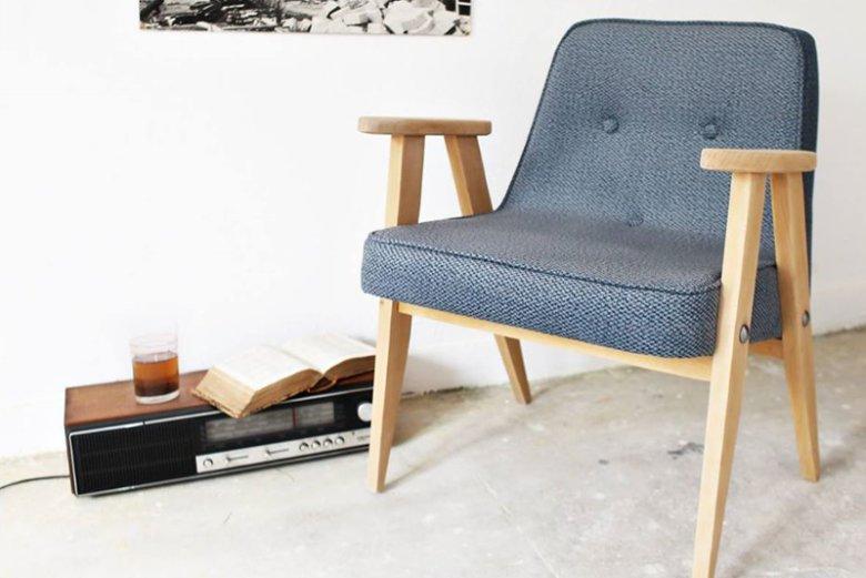 Fotel 366 po renowacji w Pracowni Jest Dobrze