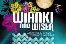 plakat warszawskich Wianków nad Wisłą 2013 (fragment)