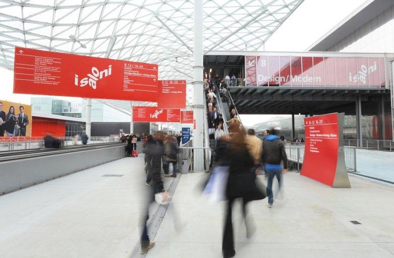 Salone Internationale del Mobile 2012,hale targowe, Rho