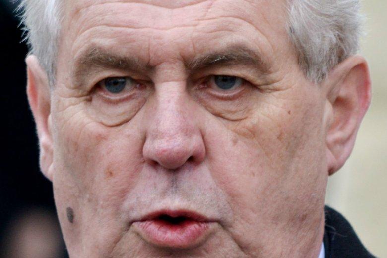 Milosz Zeman wygrał wybory prezydenckie