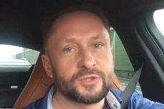 Kamil Durczok spowodował kolizję drogową pod wpływem alkoholu. Nikomu nic się nie stało.