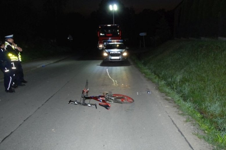 Tragiczny wypadek z udziałem rowerzysty na Podkarpaciu z czerwca tego roku. Mężczyzna śmiertelnie potrącił rowerem pieszego.