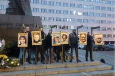 Prokuratura w Katowicach umorzyła śledztwo w sprawie zawieszenia na szubienicach podobizn europosłów PO.