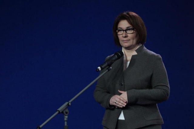 """Beata Mazurek nazwała sędziów SN """"kolesiami""""."""