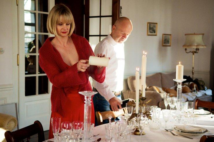 Przygotowania do świątecznej kolacji