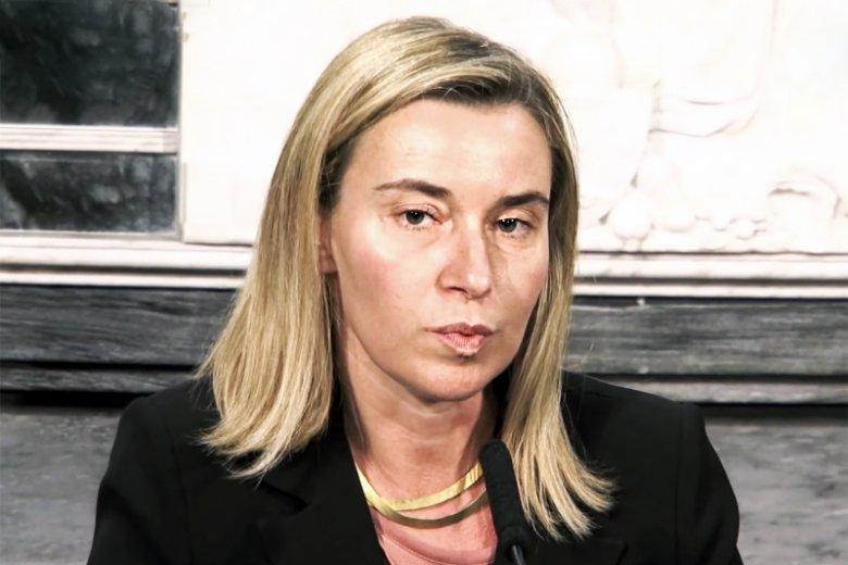 Federica Mogherini mówi słowami Władimira Putina?