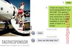 Autorzy bloga TagTheSponsor zajmują się prowokacjami na Instagramie. Tym razem ich ofiarą padły polskie modelki.