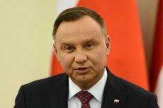 Prezydent Andrzej Duda pochwalił się zdjęciem z podróży, ale został skrytykowany.