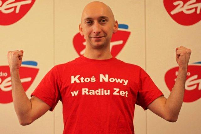 Kamil Nosel w Radiu ZET pracuje od grudnia 2011 roku.