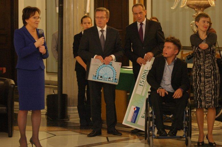 Podczas obchodów Międzynarodowego Dnia Osób Niepełnosprawnych w Sejmie RP