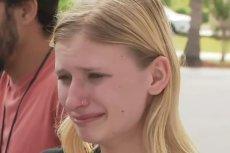 Jedna z uczennic, która przeżyła masakrę.