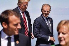 Donald Trump, Donald Tusk, Emmanuel Macron i Angela Merkel - wszyscy na jednym zdjęciu