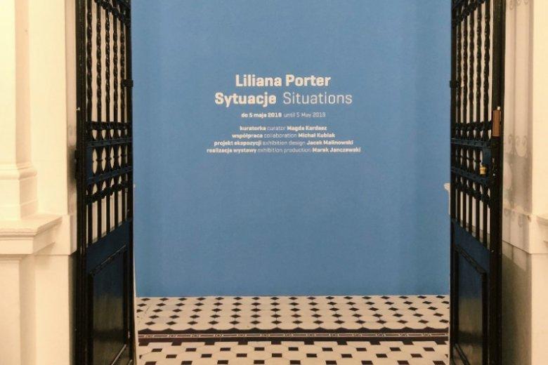 Wystawa Liliany porter w Zachęcie potrwa do 5 maja