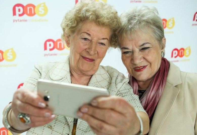 89-letnia Stenia, jedna z seniorek Dancingu Międzypokoleniowego.