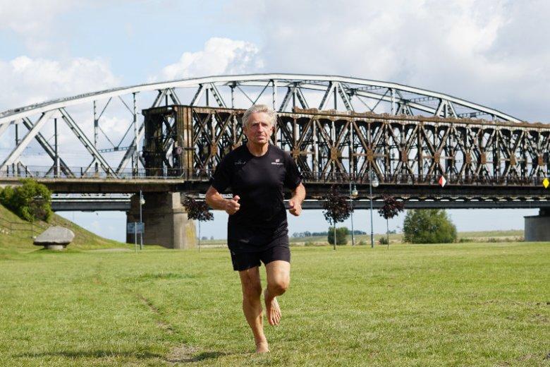 Jednym z ulubionych biegów pana Andrzeja są sobotnie parkruny.