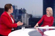 Katarzyna Lubnauer i Magdalena Ogórek pokłóciły się na antenie TVP Info o swobodę wypowiedzi w mediach publicznych.