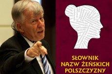 """Prof. Jan Miodek często przypomina o długiej historii kobiecych """"końcówek"""""""