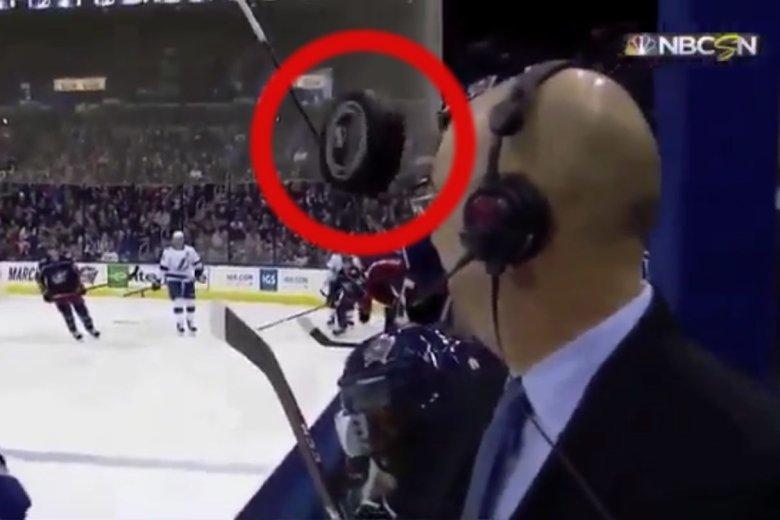 Filmik z meczu hokejowego mrozi krew w żyłach