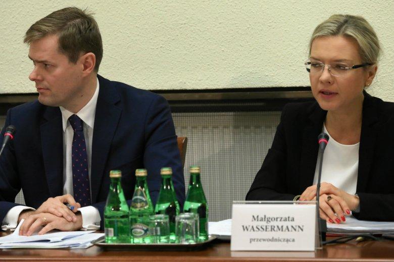 Doszło do kuriozalnego zachowania ze strony wiceprzewodniczącego komisji Amber Gold Jarosława Krajewskiego.