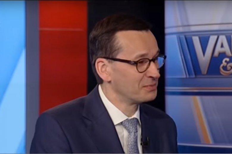 Niebywałe słowa polskiego premiera na temat polskich sądów. Padły w USA.