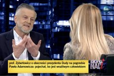 Andrzej Zybertowicz nie szczędził słów krytyki Jerzemu Owsiakowi, Pawłowi Adamowiczowi i Lechowi Wałęsie.