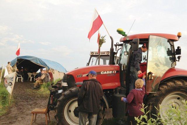Rolnicy są zdeterminowani, by nie dopuścić do dewastacji krajobrazu Zamojszczyzny