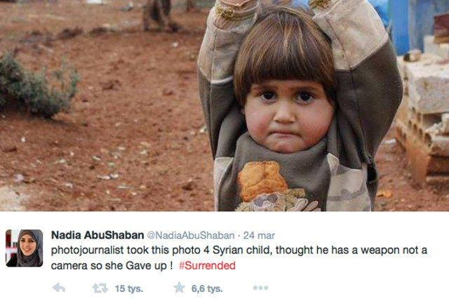 Od kilku dni cały świat mówi o tym zdjęciu Osmana Sağırlıego. BBC okrzyknęło je nawet najlepszym symbolem dramatu, który dzieje się w Syrii.