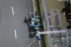 George Russel nie ukończył GP Singapuru.