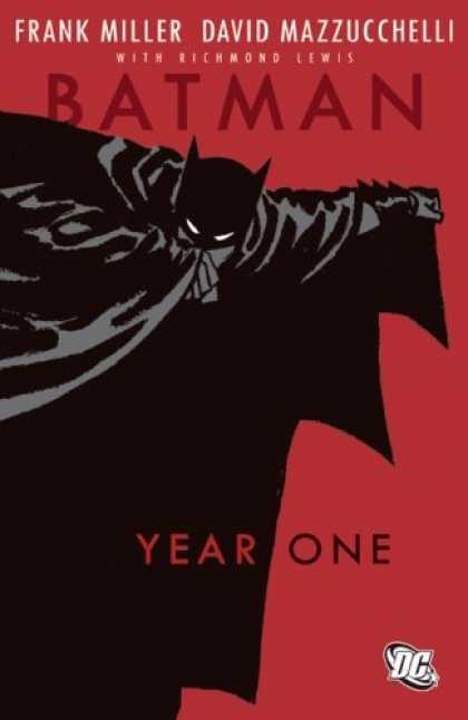 """okładka amerykańskiego wydania """"Batman: Year One"""""""