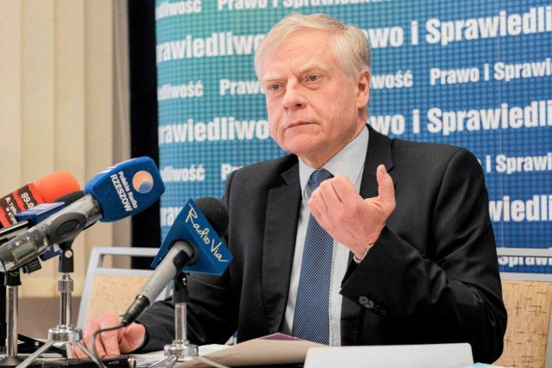 Senator Aleksander Bobko nie otrzymał rekomendacji PiS w wyborach do Senatu 2019.