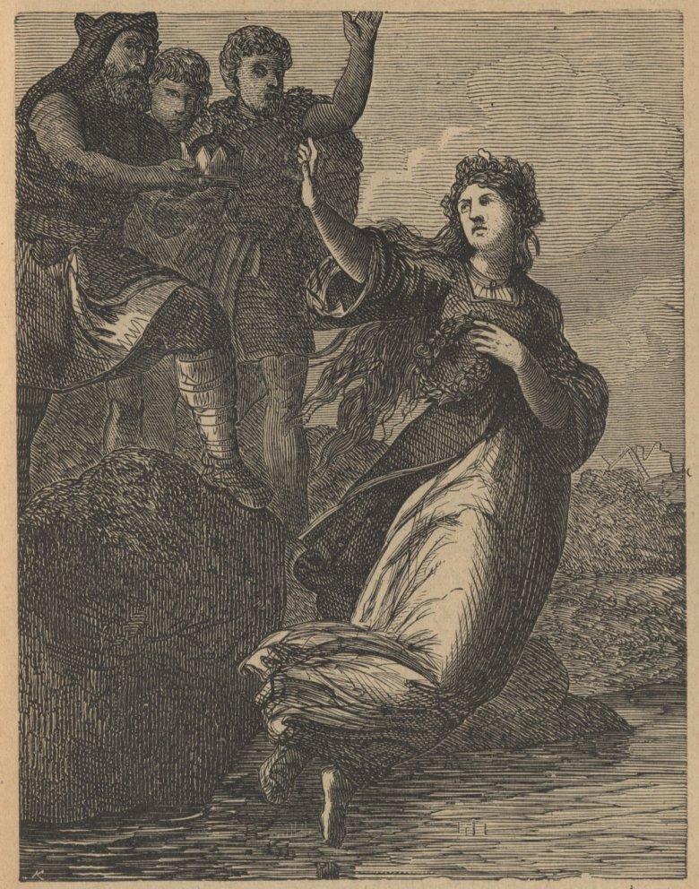 Dobrawę można sobie wyobrażać jako postać przywodzącą na myśl legendarną Wandę.
