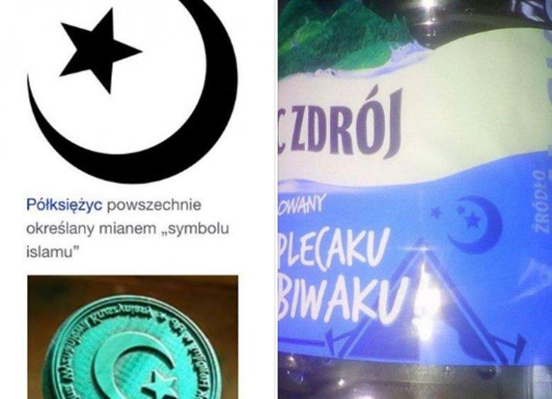 Miriam Shaded bojkotuję wodę Żywiec Zdrój, bo na jej etykiecie pojawia się symbol islamu