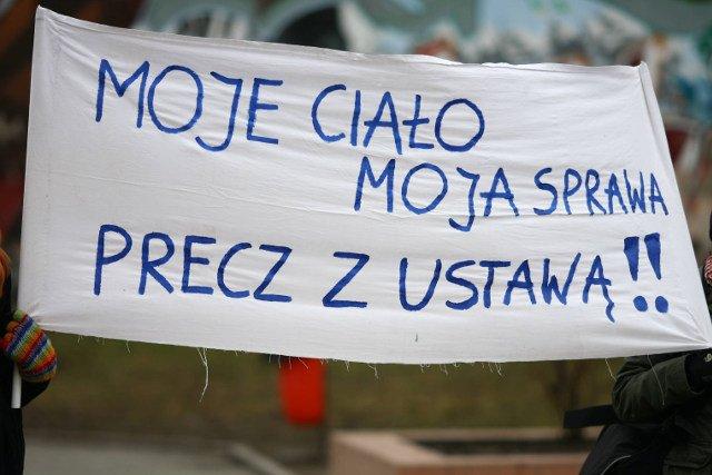 W sobotę nad Słubicami przeleci dron aborcyjny
