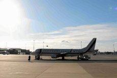 Samolot z prezydentem na pokładzie miał usterkę.