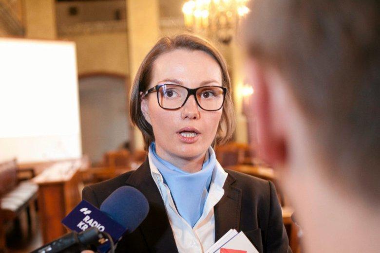 Jagna Marczułajtis-Walczak nie zraża siękrytyką i walczy o organizację w Krakowie Zimowych Igrzysk Olimpijskich