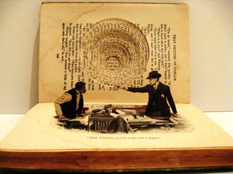 Praca Jennifer Khosbin, duchem nawiązująca do ruchomych książek Aviego