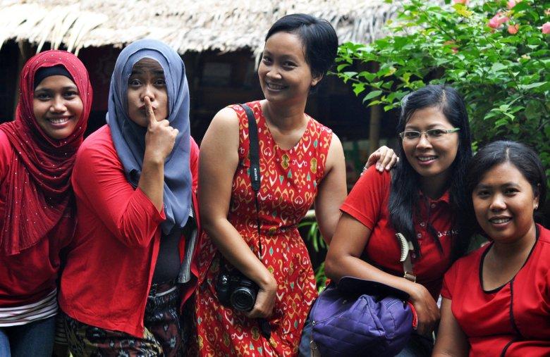Indonezyjskie kobiety