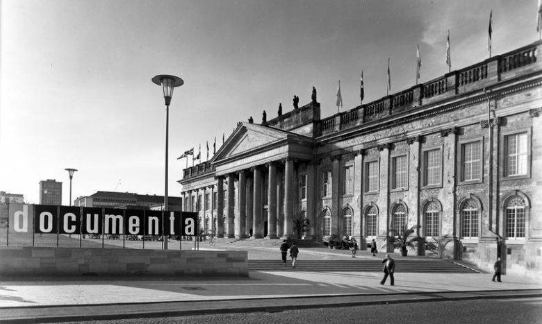 Muzeum Fridericianum w 1955 r., documenta 1