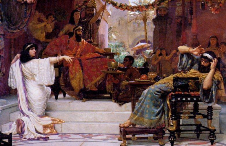 Estera demaskująca Hamana.