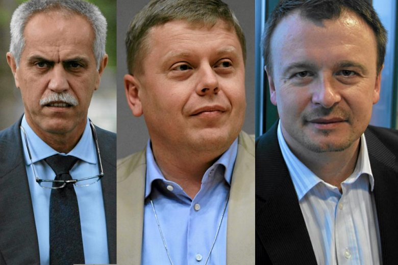 Właściciel Plus GSM Zygmunt Solorz - Żak, prezes Orange Maciej Witucki, prezes T-Mobile Miroslav Rakowski