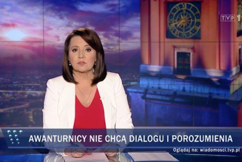 """""""Wiadomości"""" TVP zasłynęły z rządowej propagandy. Czara goryczy wreszcie się przelała."""