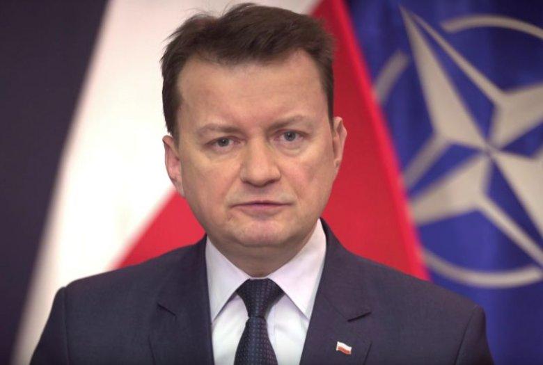 Mariusz Błaszczak wygłosił przesłanie na 19. rocznicę wejścia Polski do NATO.