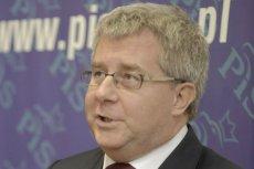 Ryzard Czarnecki pochwalił się na Twitterze zdjęciem z polską Anną Zalewską.